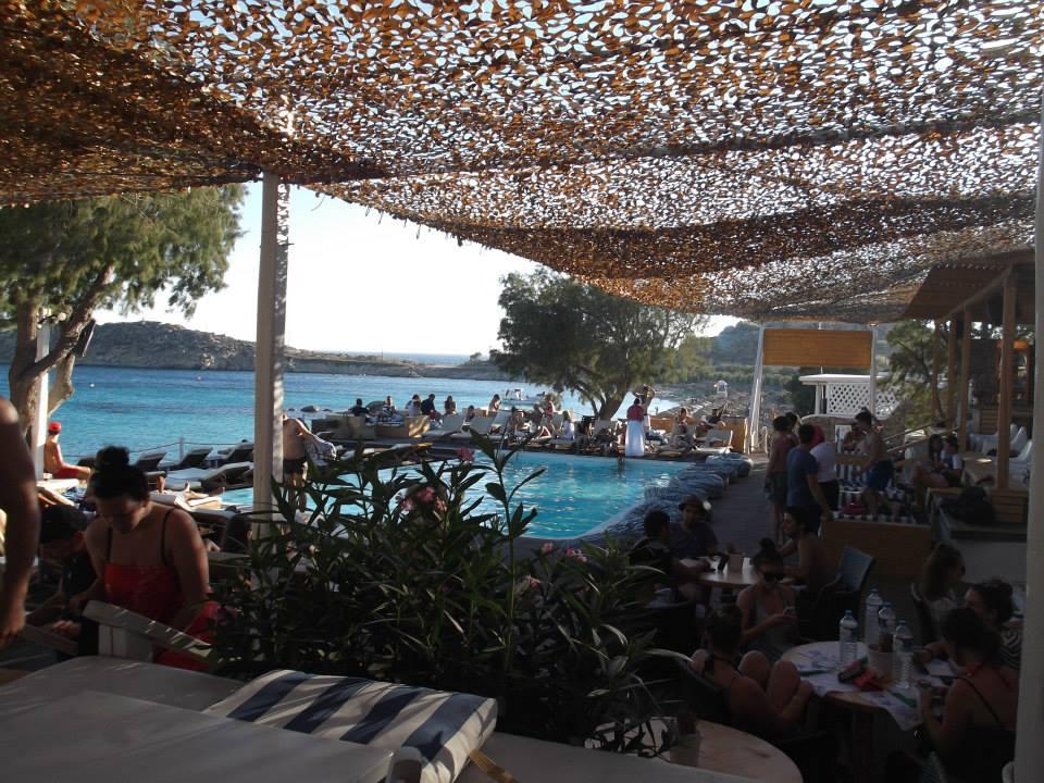 Paraga Beach, Mykonos.