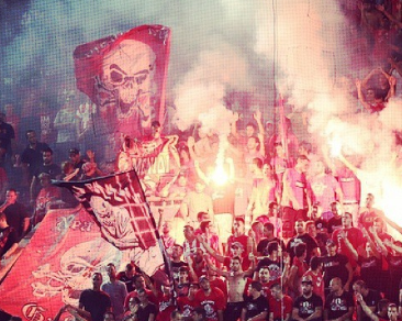 Gate 7 Fanaticism. Image by tasosmikronis via Instagram.